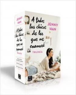 Estuche trilogía A todos los chicos de los que me enamoré par Jenny Han