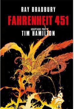 Fahrenheit 451, la novela gráfica par Ray Bradbury